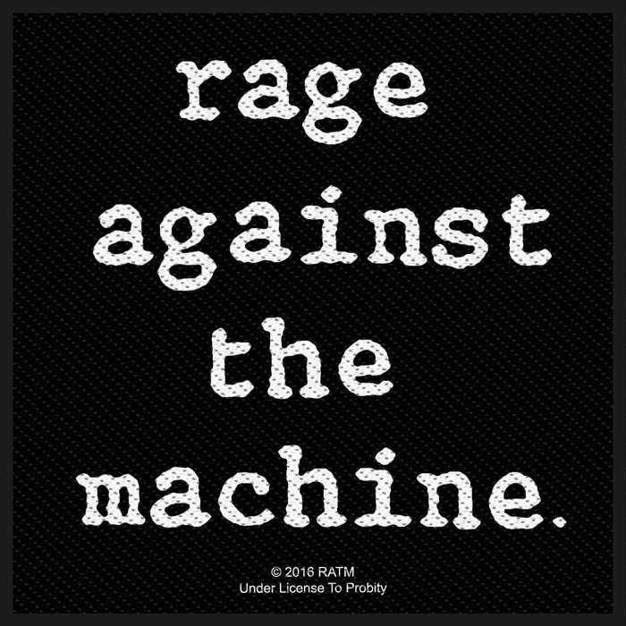 Logo - Woven Patch - Rage Against the Machine