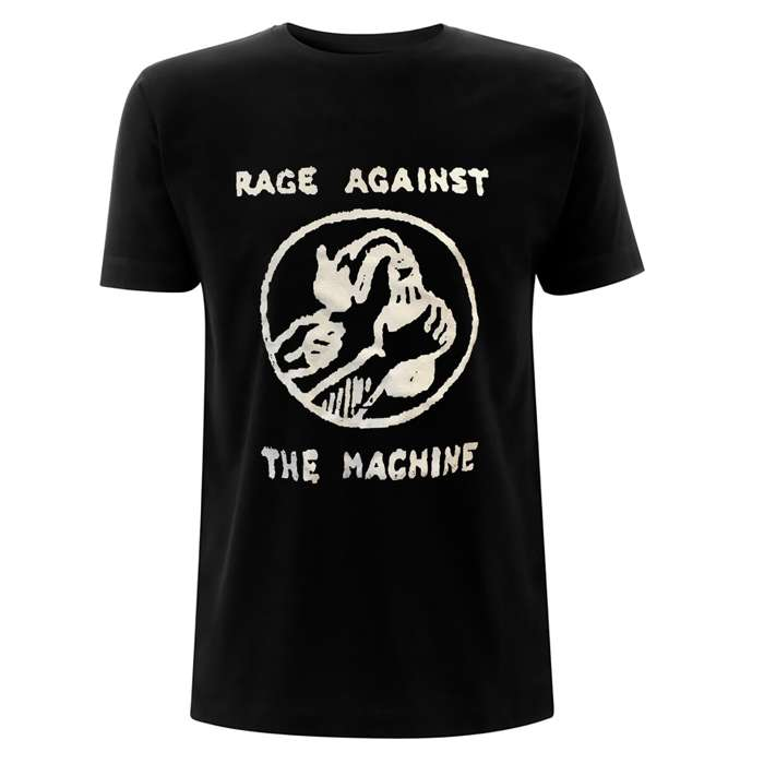 Molotov & Stencil – Black Tee - Rage Against the Machine
