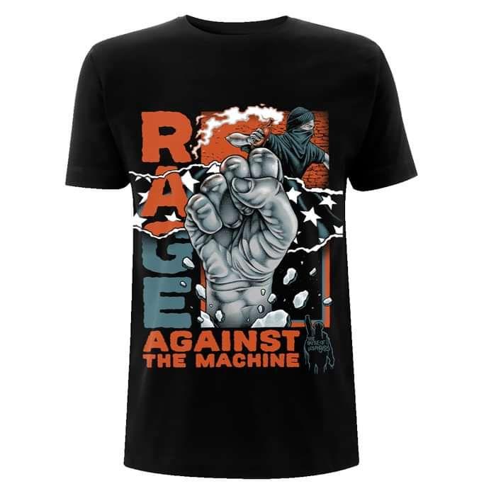 Molotov Fist – Black Tee - Rage Against the Machine