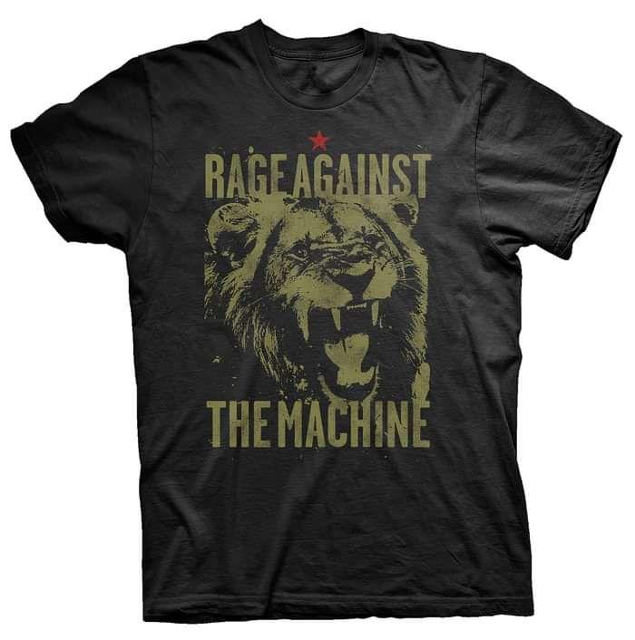 Pride – Black Tee - Rage Against the Machine