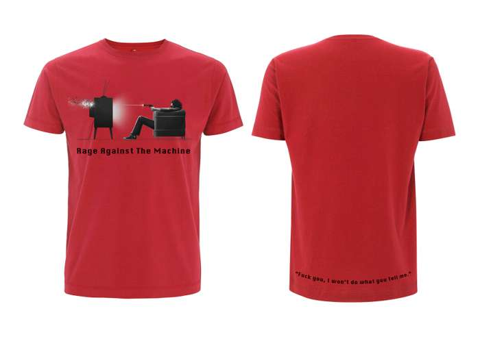 Won't Do Red - Tee - Rage Against the Machine