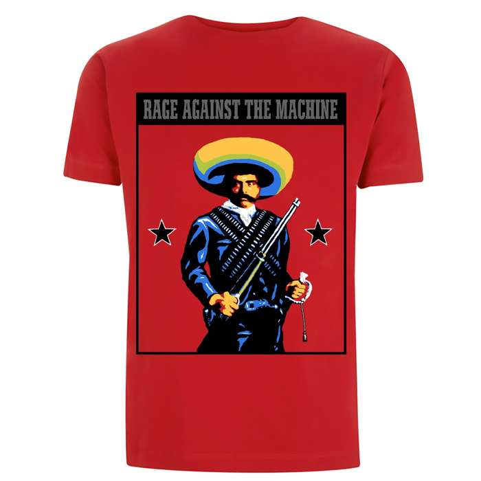 Zapata - Red Tee - Rage Against the Machine