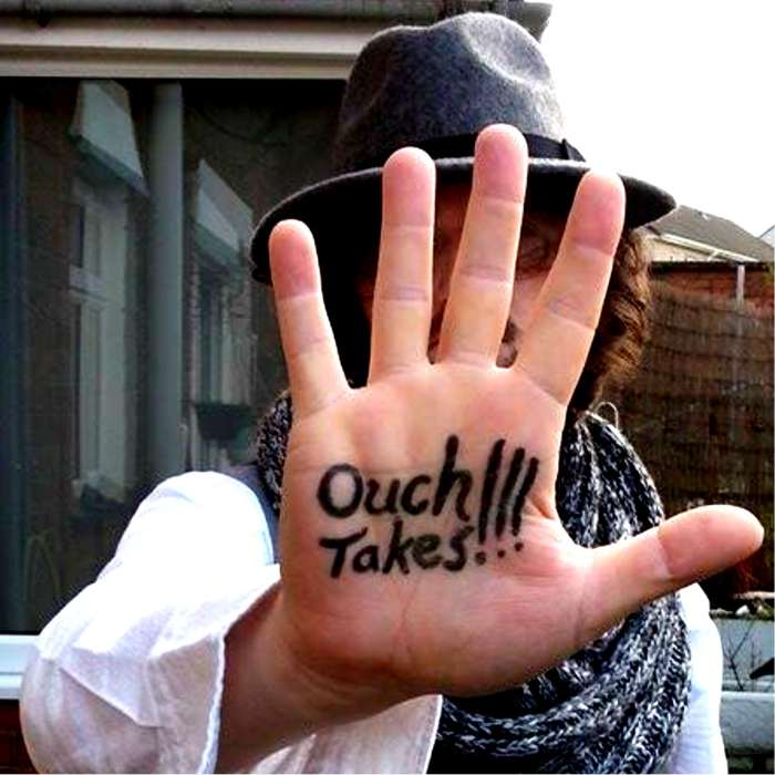 Ouchtakes!!! on CD - RAGSY