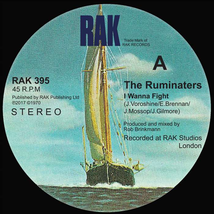 "The Ruminaters - I Wanna Fight / You Sexy Thing - 7"" Vinyl + Digital Download - RAK"