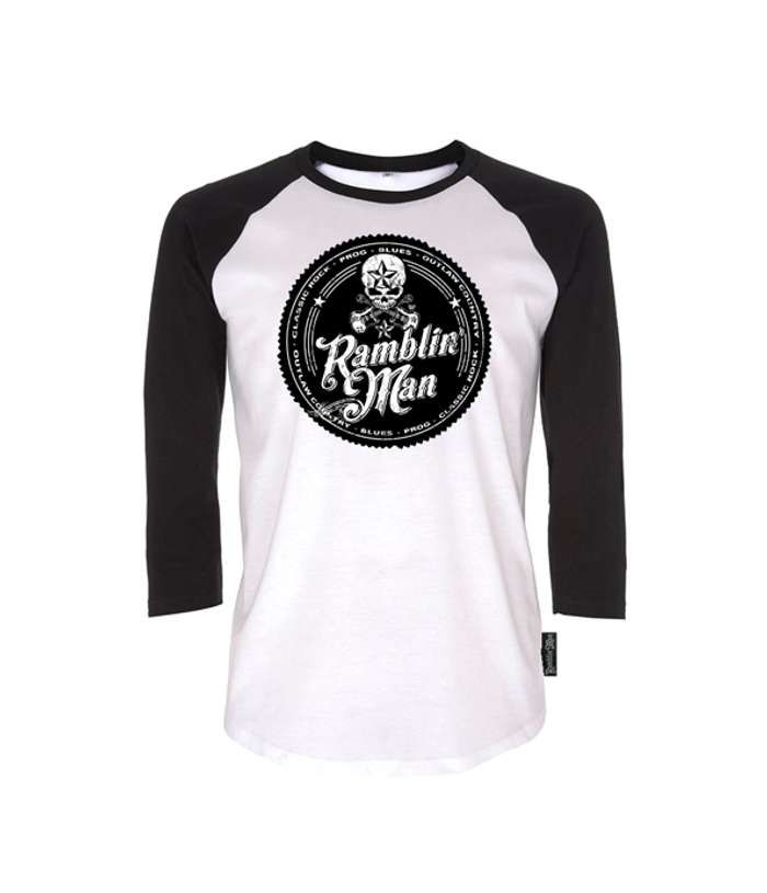 Black/White RMF Logo Longsleeve - Ramblin Man Fair