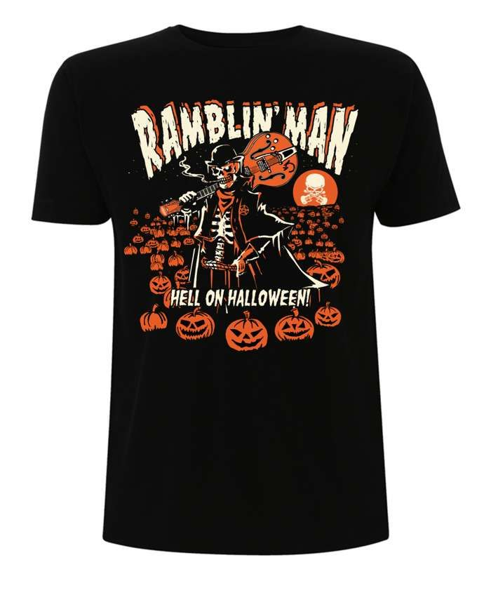 Blk RMF Halloween T - Ramblin Man Fair