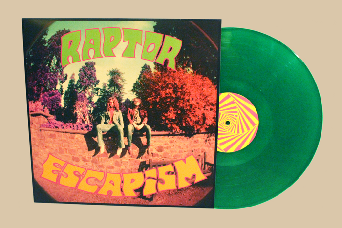 RAPTOR - ESCAPISM (ACID-GREEN VINYL LP) - RAPTOR