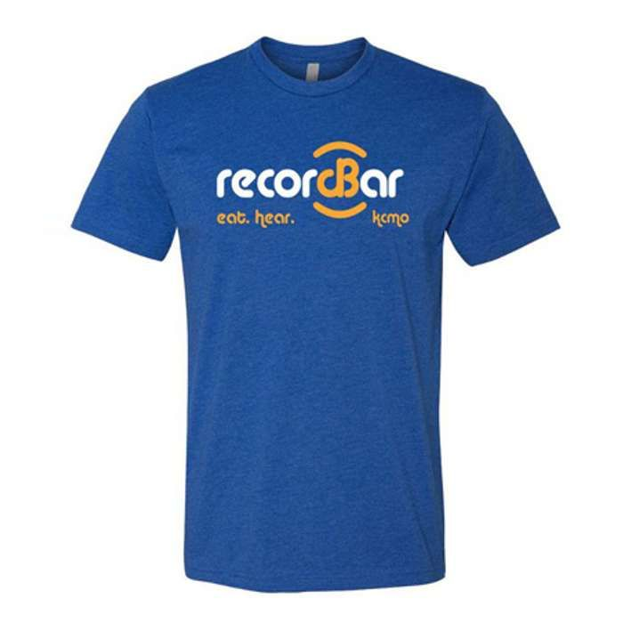 Record Bar O.G. Blue T-Shirt - recordBar