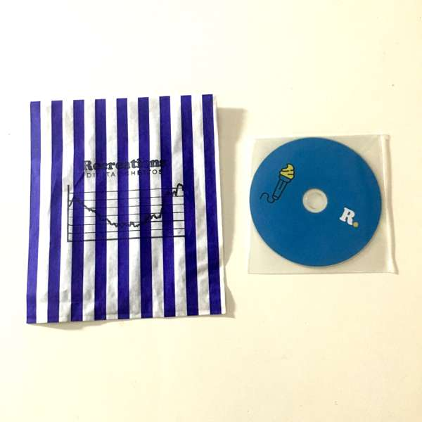 Recreations - Digital Ghettos Handmade CD EP - Sam Duckworth