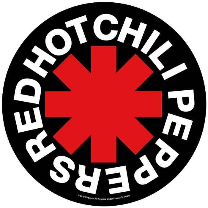 Asterisk - Back Patch - Red Hot Chili Peppers
