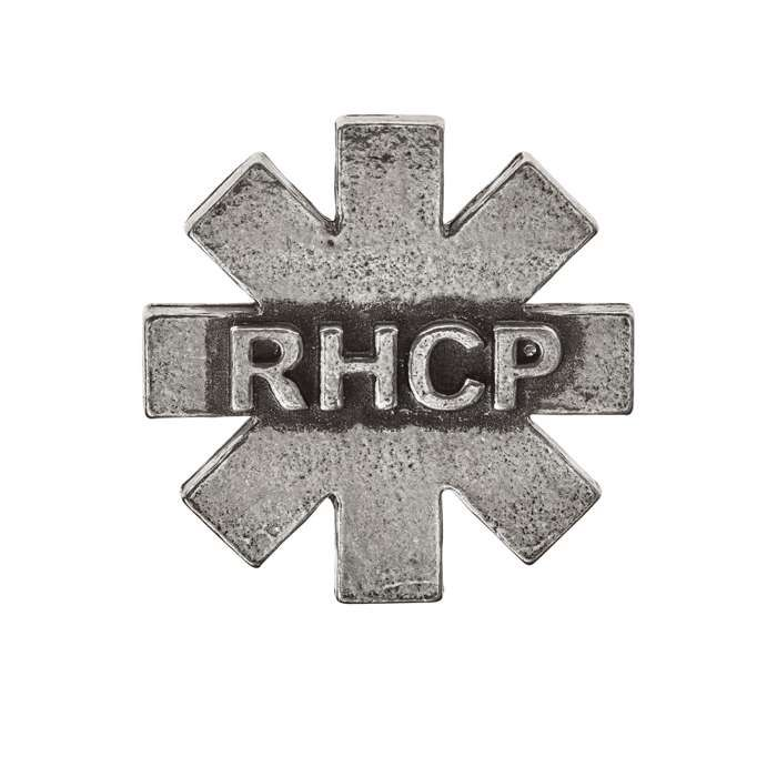 Asterisk – Pewter Badge - Red Hot Chili Peppers