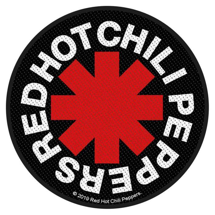 Asterisk – Woven Patch - Red Hot Chili Peppers