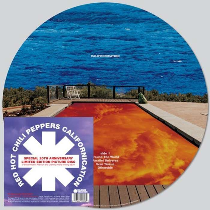 Californication – 20th Anniversary Double Picture Disc LP - Red Hot Chili Peppers