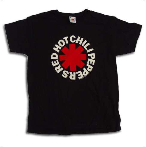 Classic Asterisk Logo – Tee - Red Hot Chili Peppers