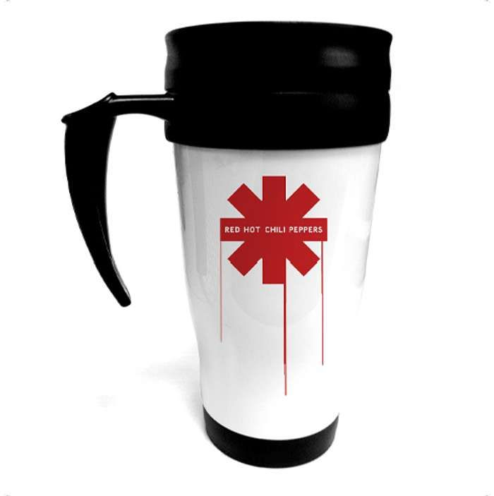 Drip Asterisk - Coffee Tumbler - Red Hot Chili Peppers