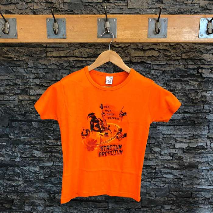 Guitar Orange - Women's Tee - Red Hot Chili Peppers