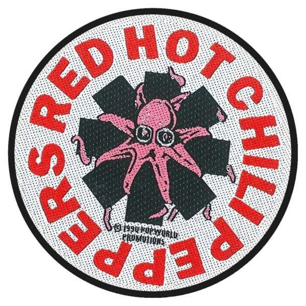 Octopus - Woven Patch - Red Hot Chili Peppers