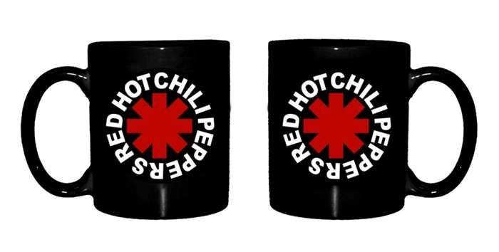 Original Asterisk - Mug - Red Hot Chili Peppers