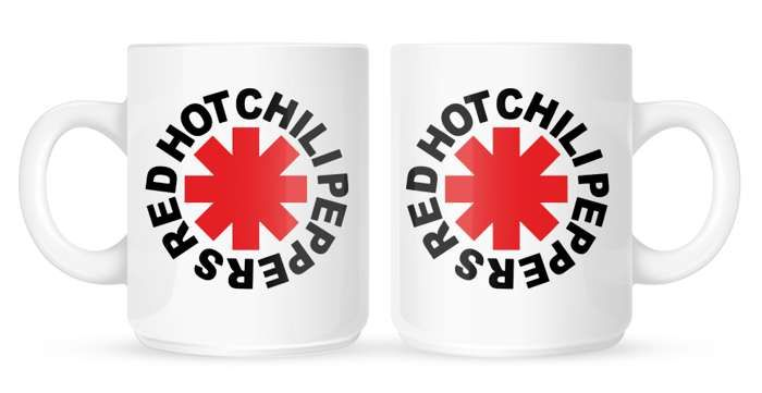 Original Logo Asterisk - Mug - Red Hot Chili Peppers