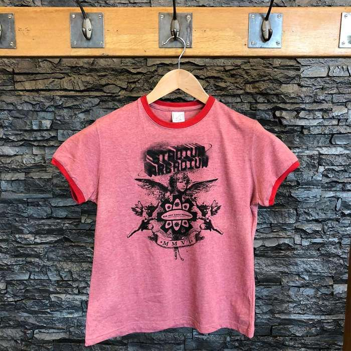 Pink Angel - Women's Tee - Red Hot Chili Peppers