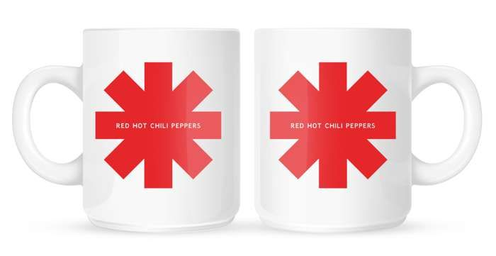 Red Asterisk – Mug - Red Hot Chili Peppers