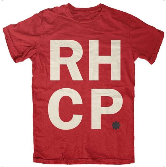 Stack - Red Tee - Red Hot Chili Peppers