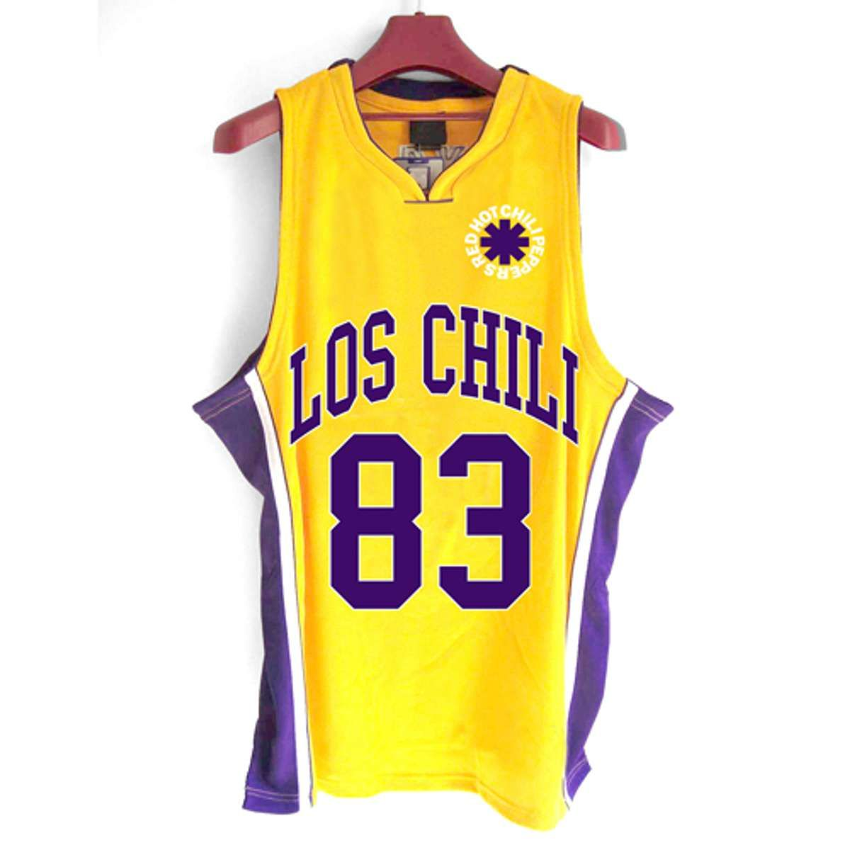 07b76be9fc5 Los Chili – Basketball Jersey. Official Red Hot Chili Peppers Merchandise