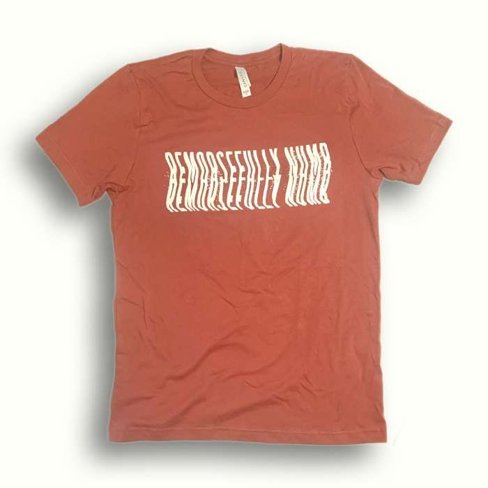 Remorsefully Numb Rust Tee - Remorsefully Numb