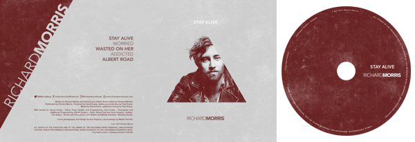 Stay Alive EP (Signed Copy) - Richard Morris