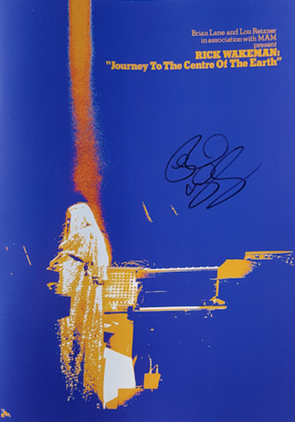1974 Journey Programme from the Royal Festival Hall (reproduction) - signed by Rick - Rick Wakeman Emporium
