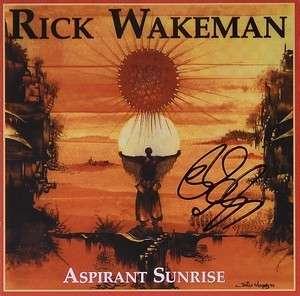 Aspirant Sunrise signed by Rick - Rick Wakeman Emporium