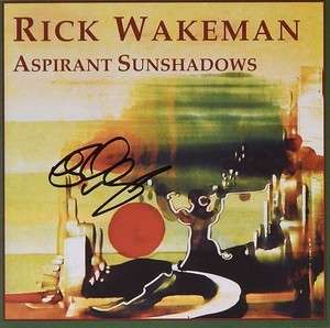 Aspirant Sunshadows  - signed by Rick - Rick Wakeman Emporium
