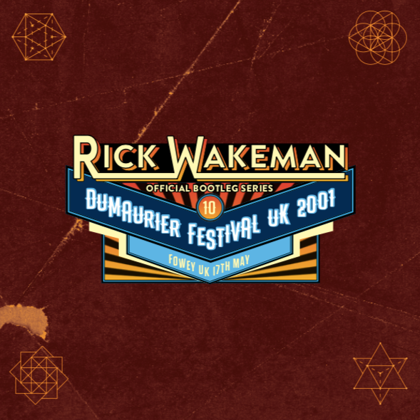 Boot 10 - Live at Daphne Du Maurier Festival UK 17th January 2001, 2CD set - Rick Wakeman Emporium