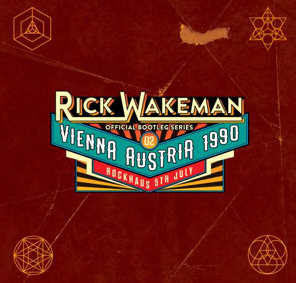Boot 2 - Live in Vienna Austria 5th July 1990, 2CD set - Rick Wakeman Emporium
