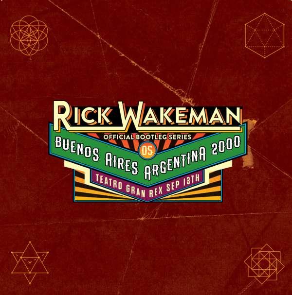 Boot 5 - Live at Buenos Aires, Argentina 2000, 2 CD set - Rick Wakeman Emporium