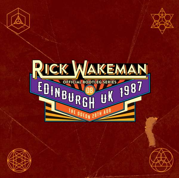 Boot 8 - Live at The Odeon Edinburgh 28th August 1987 - Rick Wakeman Emporium