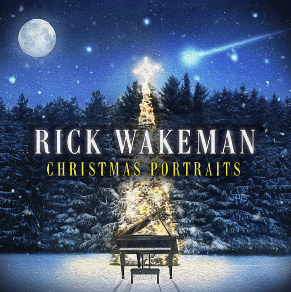 Christmas Portraits  - Signed by Rick - Rick Wakeman Emporium