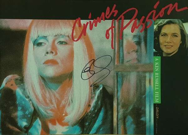 Crimes of Passion SIGNED Japanese Press book (reproduction) - Rick Wakeman Emporium