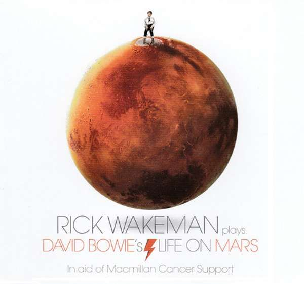 David Bowie's Life On Mars (3 Track Single) MP3 Download - Rick Wakeman Emporium