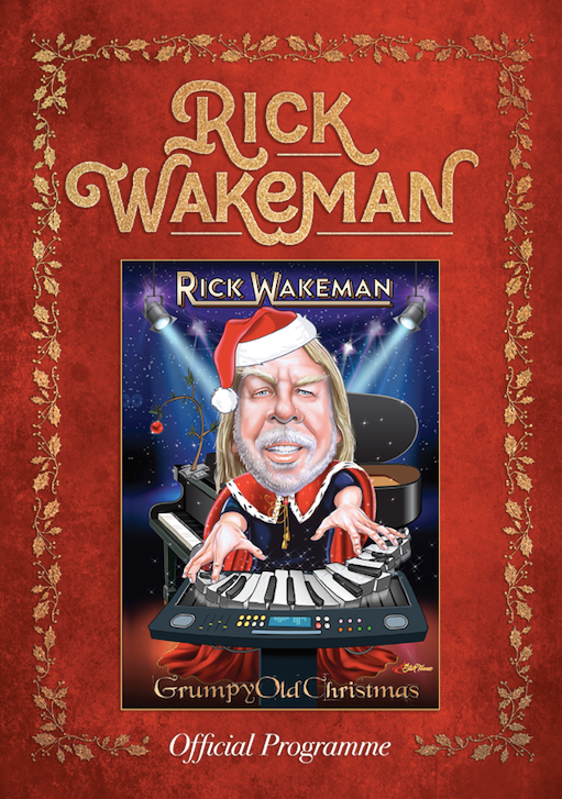 Grumpy Christmas UK Tour 2019 Programme - Signed by Rick - Rick Wakeman Emporium