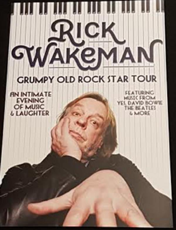 Grumpy Old Rock Star Tour Print - Rick Wakeman Emporium
