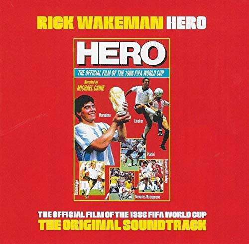 Hero Original Soundtrack CD - first time released - Rick Wakeman Emporium