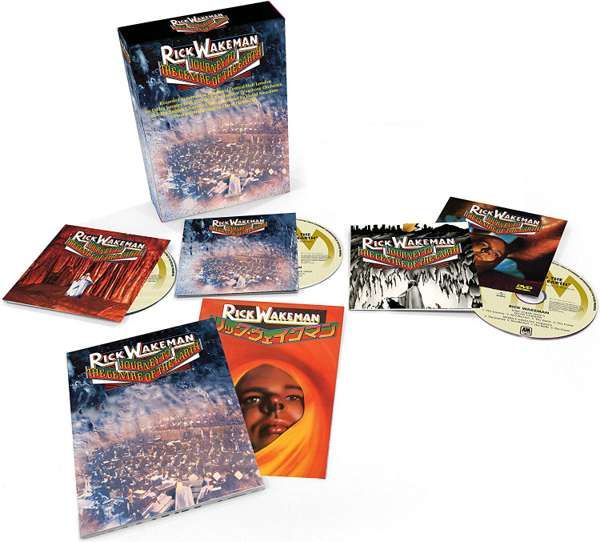 Journey To The Centre Of The Earth (Super Deluxe) Box Set - Rick Wakeman Emporium