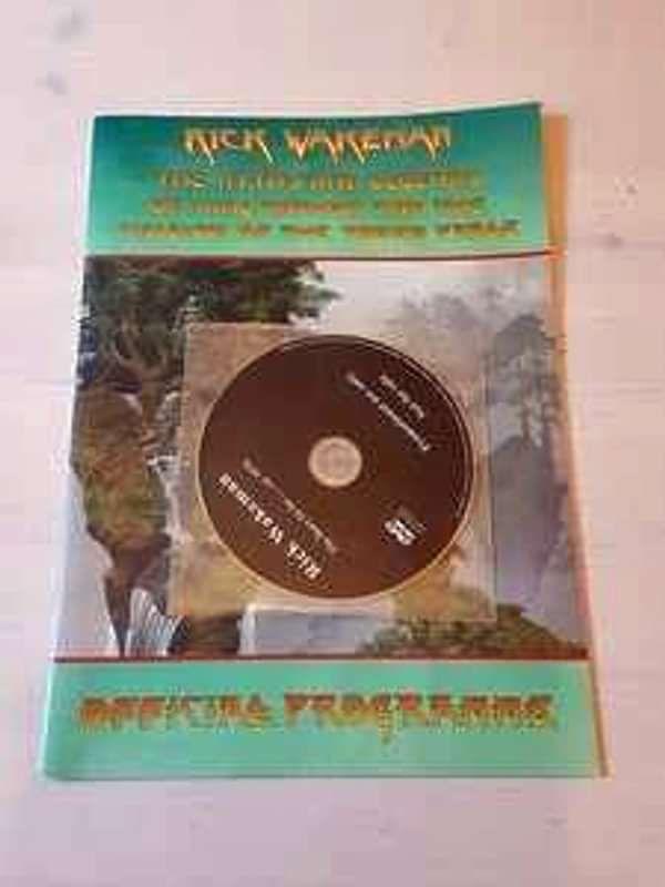 King Arthur O2 original event programme. With cover mount DVD - Rick Wakeman Emporium