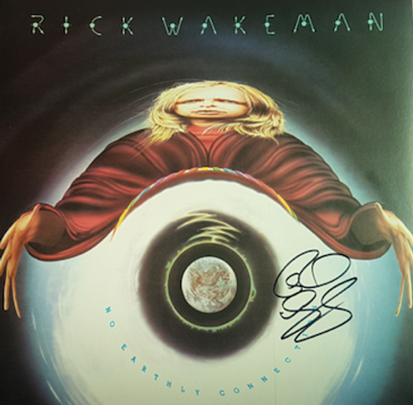 Limited Signed No Earthly Connection 180g Vinyl LP - Rick Wakeman Emporium