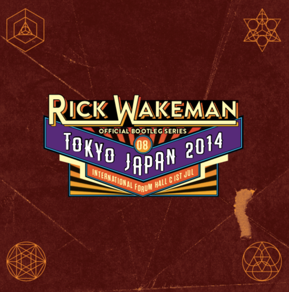 Live at International Forum Hall, Tokyo, Japan 1st July 2014, 2CD set - Rick Wakeman Emporium