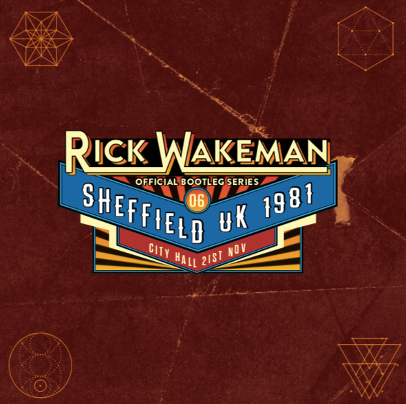 Live at the City Hall Sheffield, UK November 21st 1981, 2CD - Rick Wakeman Emporium
