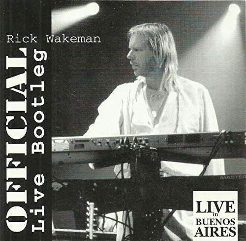 Official Live Bootleg - Live In Buenos Aires, 1993 2CD set - Rick Wakeman Emporium