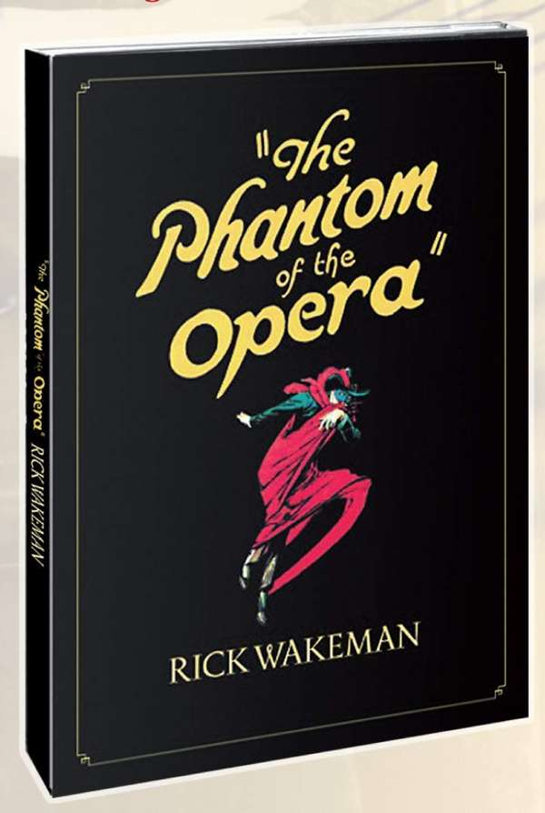 Phantom of the Opera DVD - Rick Wakeman Emporium