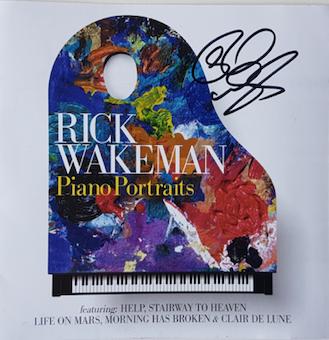 Piano Portraits  signed by Rick - Rick Wakeman Emporium